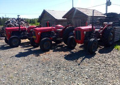 Massey Ferguson traktorin entisöinti, Marive Oy, Himanka Kalajoki.