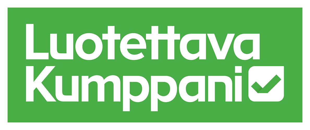 Luotettava Kumppani logo, Marive Oy, Himanka Kalajoki.